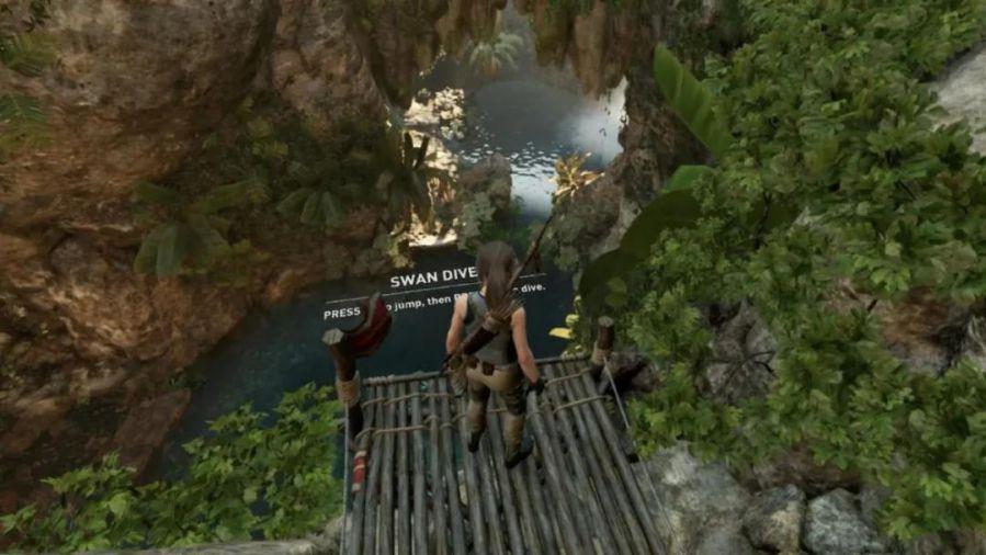 1080P画质下的《古墓丽影:暗影》