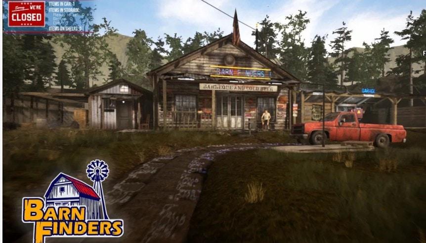 steam游戏Barn Finders(废品大亨)