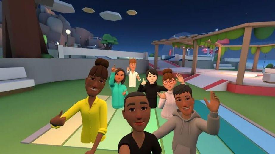 VR社交游戏《Facebook Horizon》